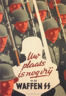 Wervingsaffiche Waffen SS voor Vlaamse vrijwiligers  - cc
