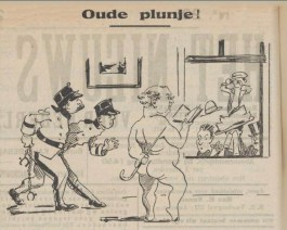 """Oude plunje"""" (afkomstig uit Het nieuws van den dag voor Nederlandsch Indië, 23 sept. 1911)"""
