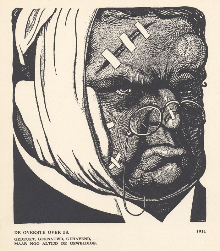 Albert Hahn sr., De overste over 58, 1911.