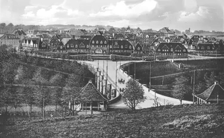 Margarethenhöhe in 1910
