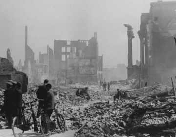 Rotterdam na het bombardement