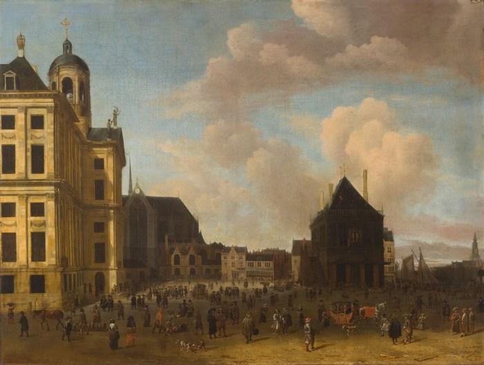 Abraham Storck, De Dam (1675) - Amsterdam Museum