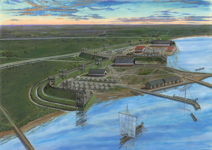 De Romeinse vlootbasis van Velsen (Graham Sumner)