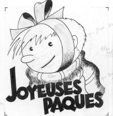 De tekening van Hergé (Veilinghuis Zwiggelaar)