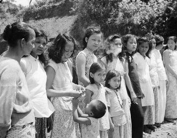 Troostmeisjes, kort na de Tweede Wereldoorlog