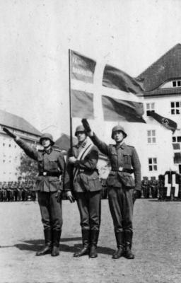 Leden van het Vrijkorps Denemarken (CC Bundesarchiv, Bild)