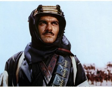Omar Sharif in 'Lawrence of Arabia'
