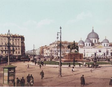 Sint Petersburg rond 1900 (photochrom)