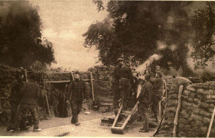 Verdediging van Antwerpen in 1914