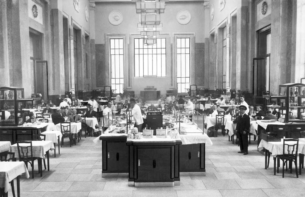 Stationsrestaurant 3e klasse, 1931