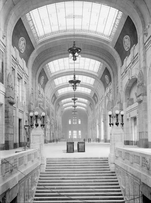 Galleria di test bij oplevering, 1931