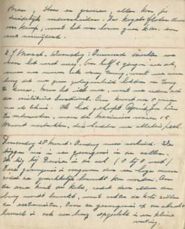 Een detail uit het dagboek van Evert-Jan Nijboer