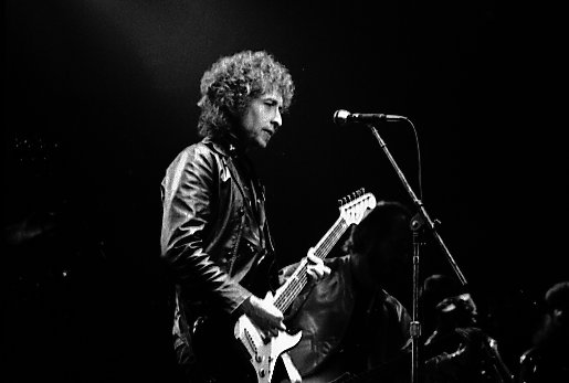Bob Dylan in Toronto, Canada (april 1980) - cc