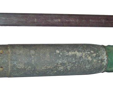 Duitse brandbom uit de Tweede Wereldoorlog (cc - Ian Dunster)