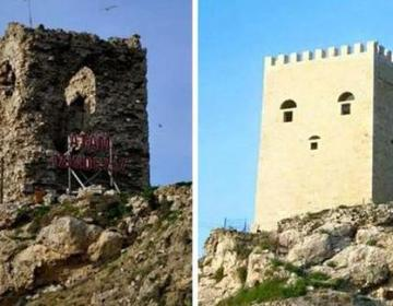 Historisch kasteel verbouwd tot 'SpongeBob-kasteel