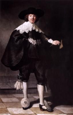 Portret van Maerten Soolmans - Rembrandt van Rijn, 1634