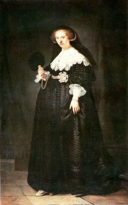 Portret van Oopjen Coppit - Rembrandt van Rijn, 1634