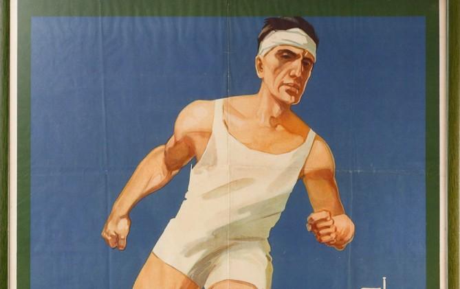 Poster van de Olympische Spelen van 1928