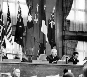 President van het Tribunaal, William Webb