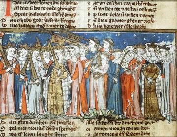 Spiegel Historiael, 1325-1335