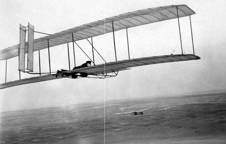 Zweefvlieger van de gebroeders Wright