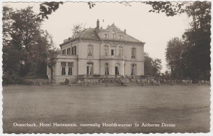Oosterbeek. Hotel Hartenstein. 1989