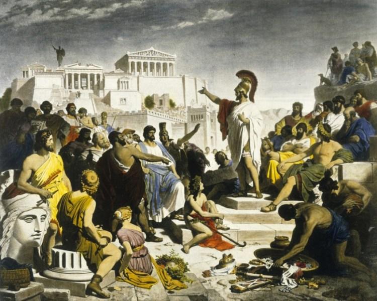 Griekenland en democratie