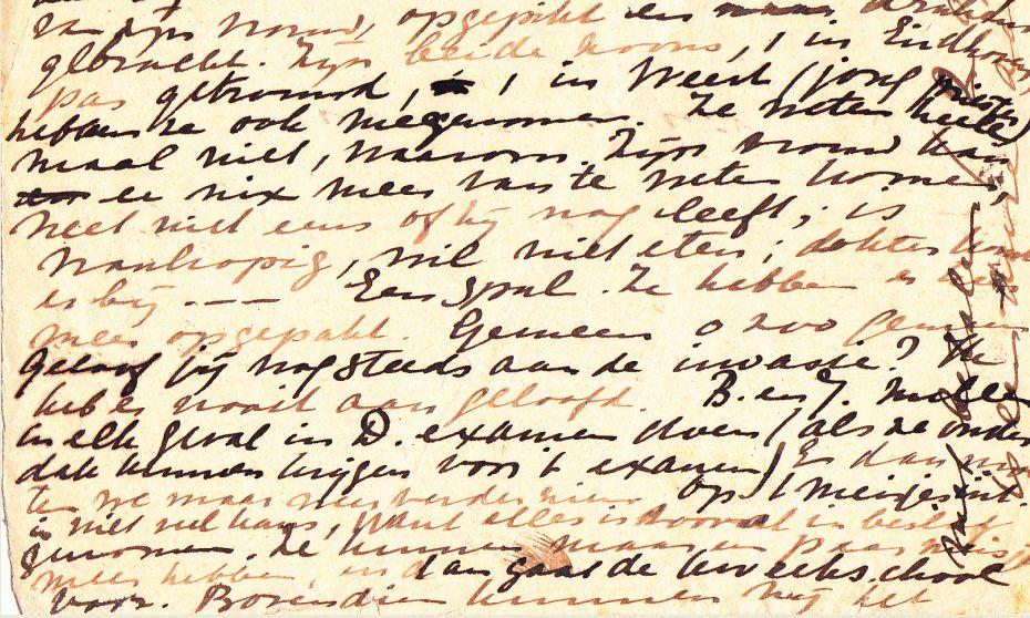 ...fragment uit de brief...