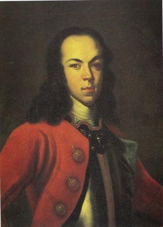Portret van Aleksej Petrowitsch, de zoon van Peter. Bron: Wikimedia
