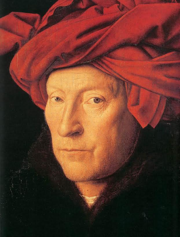 """Jan van Eyck, """"De man met de rode tulband"""" (1433). Bron: Wikimedia"""