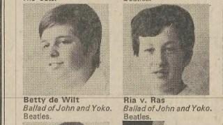 Echte Beatles-lovers, deze Udense modinettes