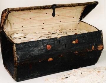 Het archief van de 17e-eeuwse postmeester