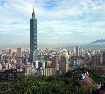 Taipei, de hoofdstad van Taiwan - cc
