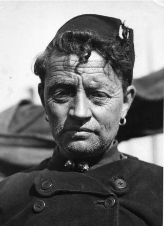 Inwoner van Urk, 1931 (foto B. Buurman). Collectie Nieuw Land Erfgoedcentrum, Lelystad.