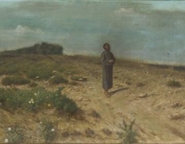 Franciscus tussen de vogels, Francesco Coppola Castaldo, 1878, Museum voor Religieuze Kunst Uden, foto Niels den Haan