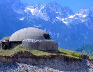 Bunker in de Albanese alpen (cc - Elian Stefa)