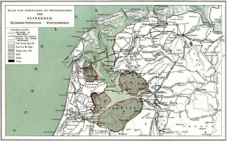 Kaart Staatscommissie