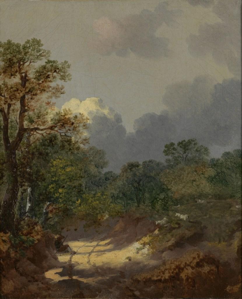 Thomas Gainsborough, Boomachtig landschap, ca 1745, Rijksmuseum Twenthe