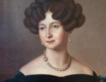 Anna Paulowna in 1841, door Jean-Baptiste Van der Hulst