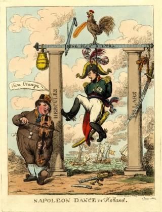 Zingend verzet tegen Napoleon
