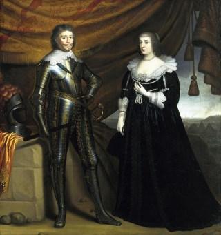 Frederik Hendrik  en Amalia van Solms