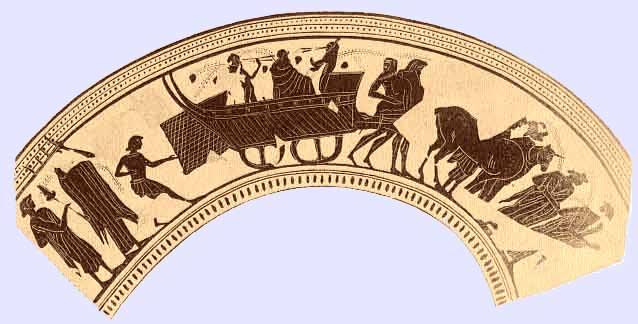 De processie van Dionysos