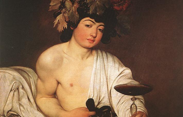 Dionysos (Bacchus) - Caravaggio