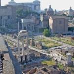 Forum, overzicht vanaf de Palatijn (wiki)