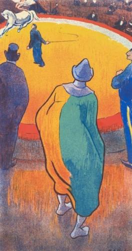 In het circus (Au cirque)  Henri Gabriel Ibels, 1893