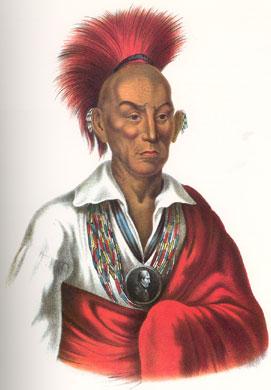 Indianenleider Black Hawk