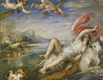 Ontvoering van Europa, Peter Paul Rubens (1577-1640)
