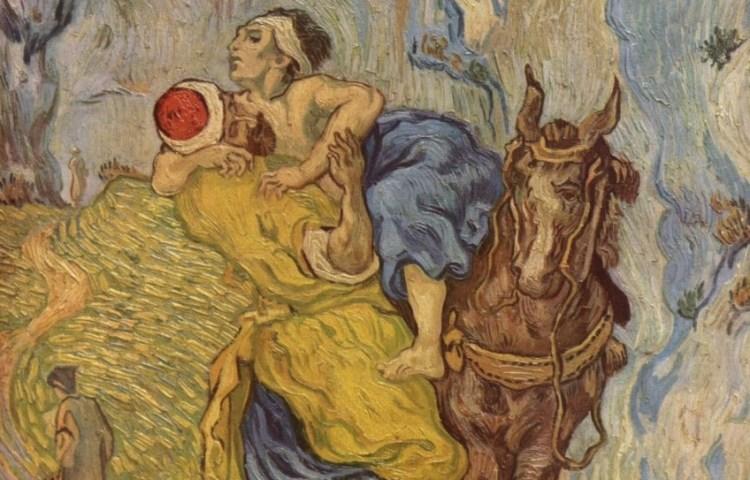 Van Gogh, De Barmhartige Samaritaan (naar Delacroix)