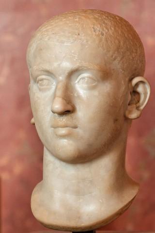 Buste van Severus Alexander in het Louvre