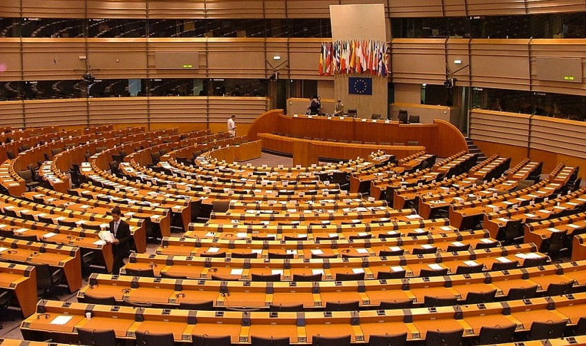 Europees Parlement in Brussel - cc